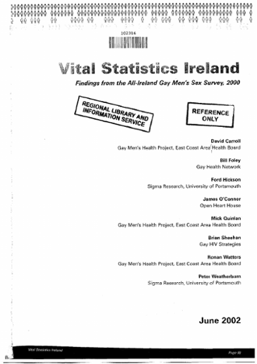 The LGBTIreland Report - BeLonG To Youth Services