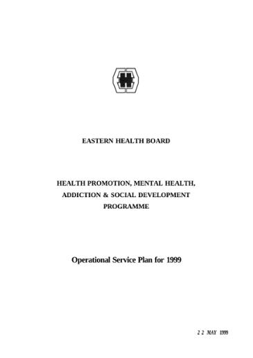Health promotion, mental health, addiction and social development