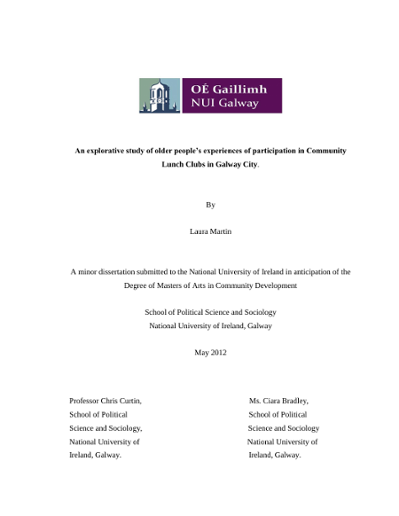 nuig thesis results