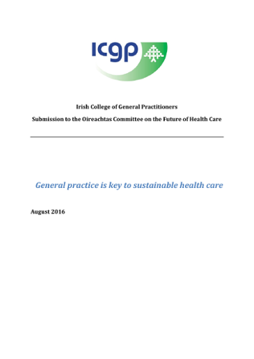 General practice is key to sustainable health care