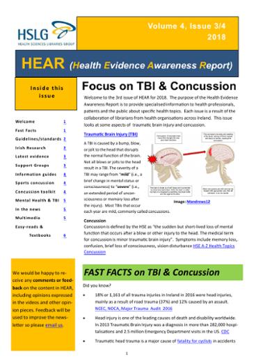 Focus on TBI & Concussion